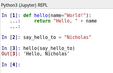 What is a REPL?